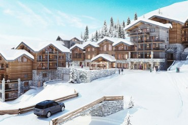 New apartments for sale in La Plagne