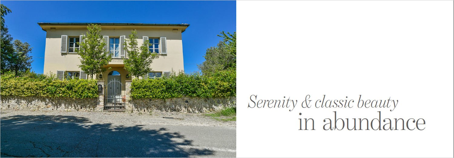 Serenity & classic beauty in abundance in Tuscany