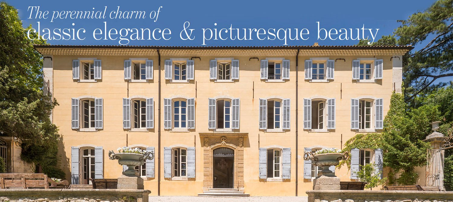 Classic luxury bastide in Provence