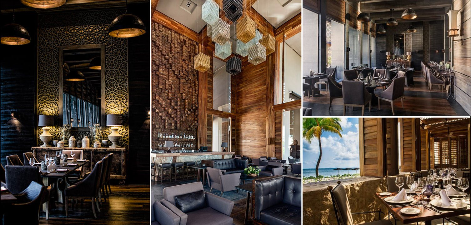 Image collage of 4 of the restaurants at NIZUC