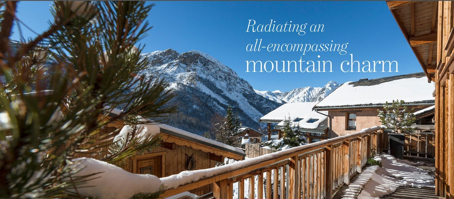 Radiating an all-encompassing mountain charm - luxury chalet for sale in Saint Martin de Belleville