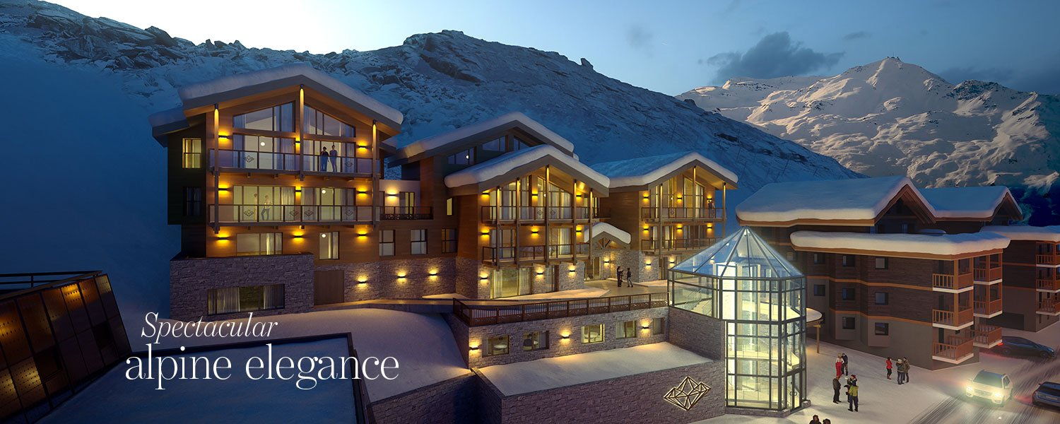Spectacular alpine elegance - luxury chalet for sale in Val Thorens