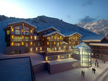 Luxury chalet Val Thorens