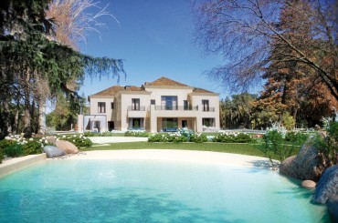 Impressive new villa for sale in La Florida Madrid Spain