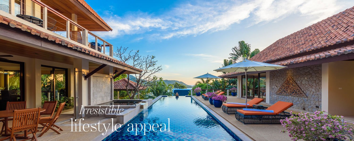 Irresistible lifestyle appeal - luxury villa for sale in Kata Beach Phuket
