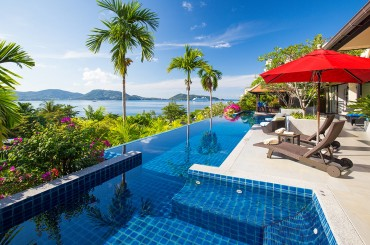 Ocean view villa for sale in Phuket