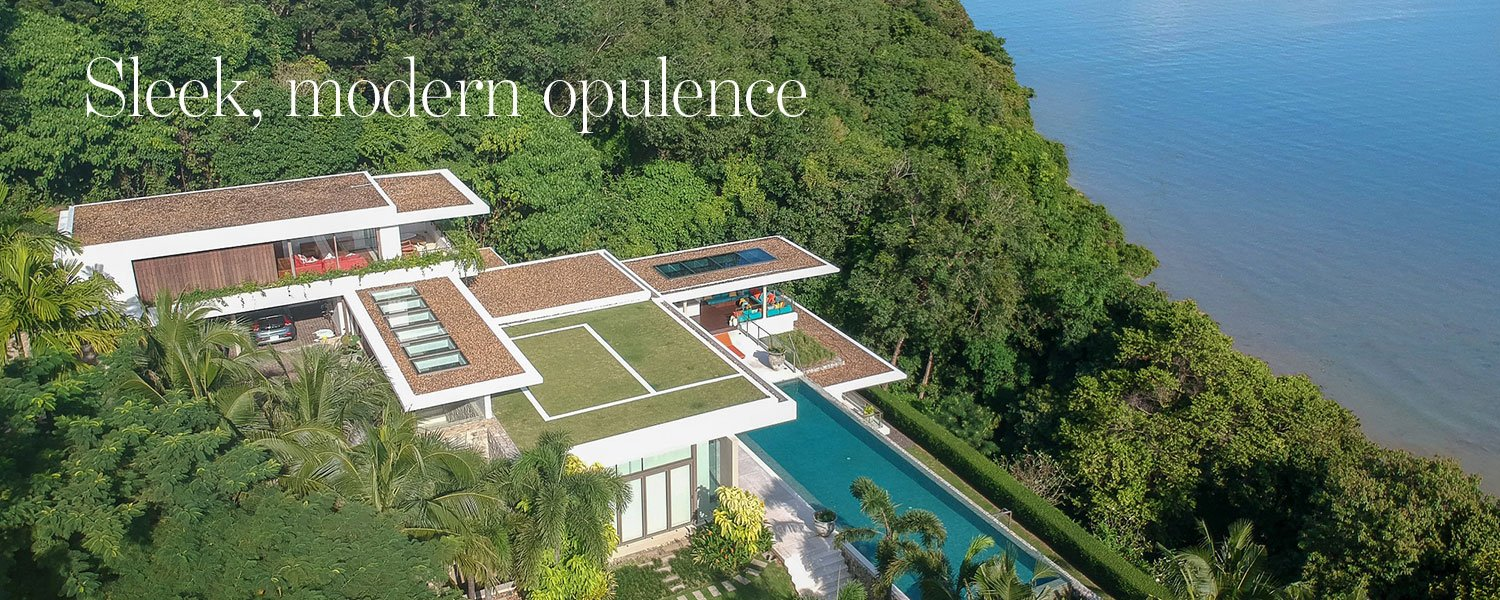 Sleek, modern opulence - oceanfront mega-mansion for sale in Cape Panwa Phuket