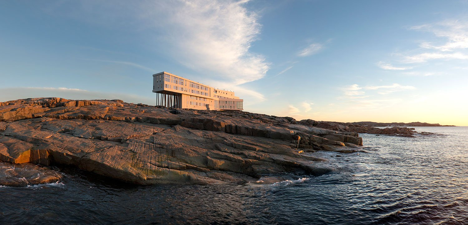 Fogo Island Inn architecture and design