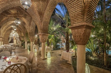 Restaurant at La Sultana Marrakech