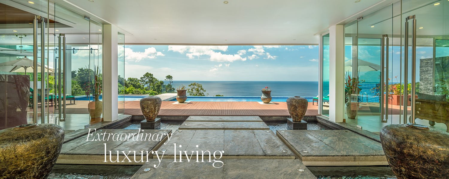 Extraordinary luxury living - exclusive villa in Phuket for sale