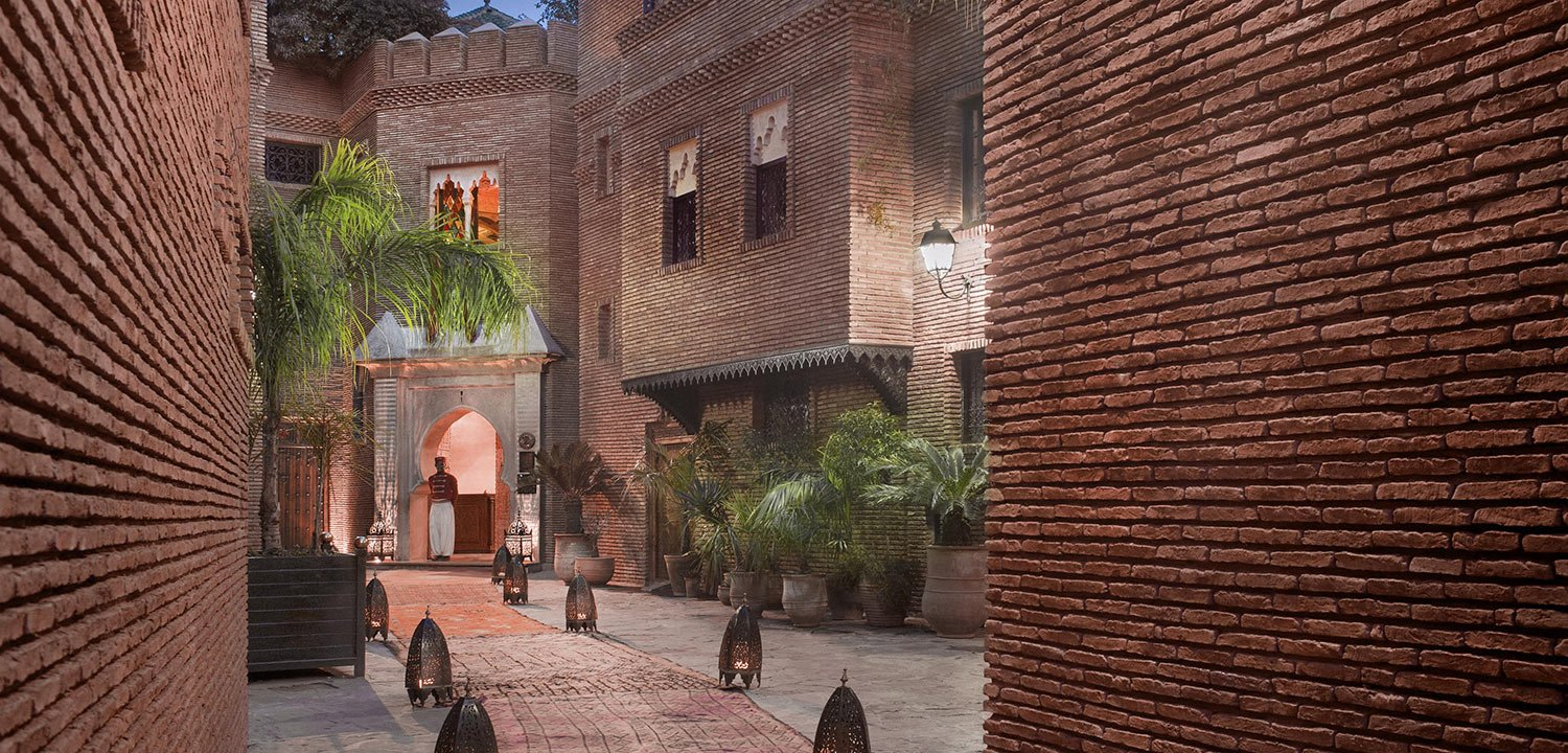 One of the riads of La Sultana Marrakech