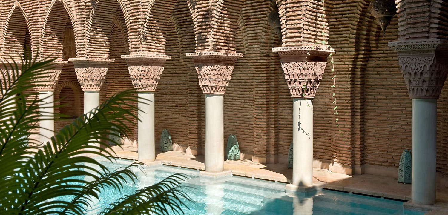 The pool La Sultana in Marrakech