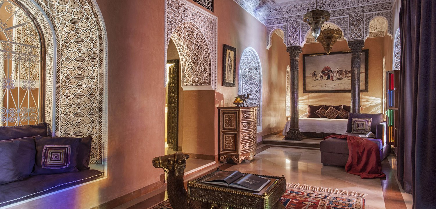 Suite at La Sultana boutique hotel in Marrakech
