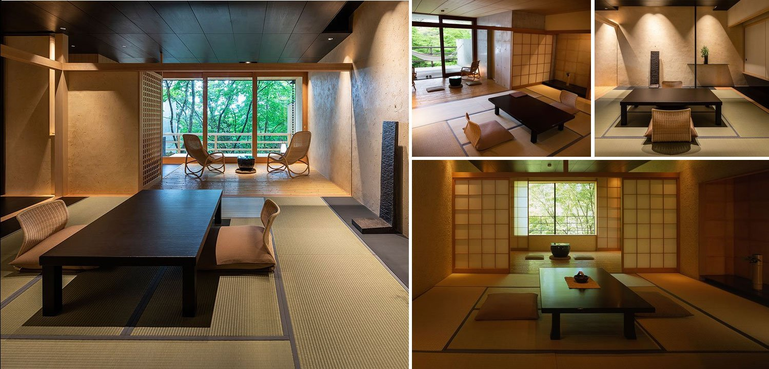 Image composition of different suites at Beniya Mukayu