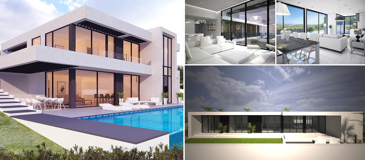 Custom designed villas ibiza