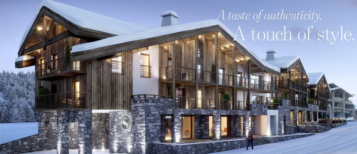 A taste of authenticity. A touch of style. New luxury apartments in Les Gets in the French Alps