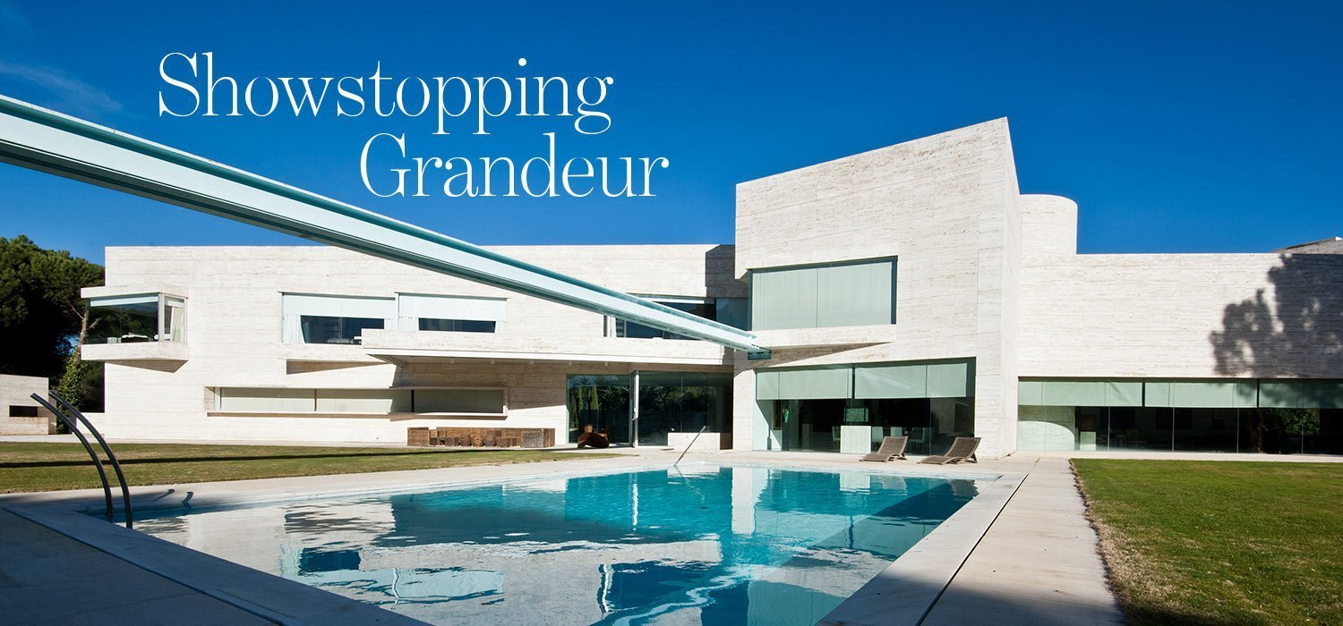 Showstopping grandeur - contemporary and spectacular villa in Pozuelo Madrid