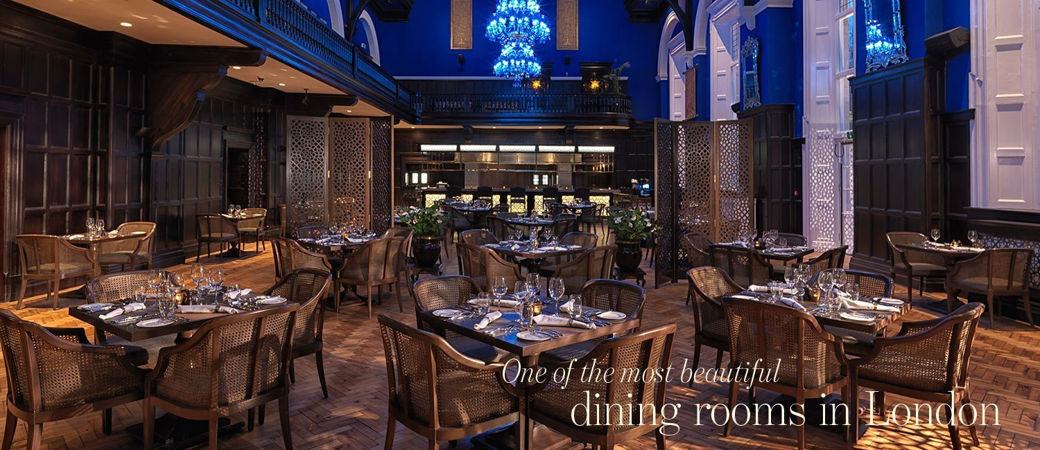 One of the most beautiful dining rooms in London - Baluchi Restaurant