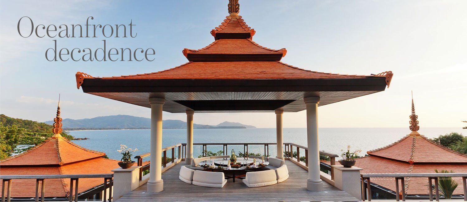 Oceanfront decadence - exclusive Trisara villa for sale in Phuket