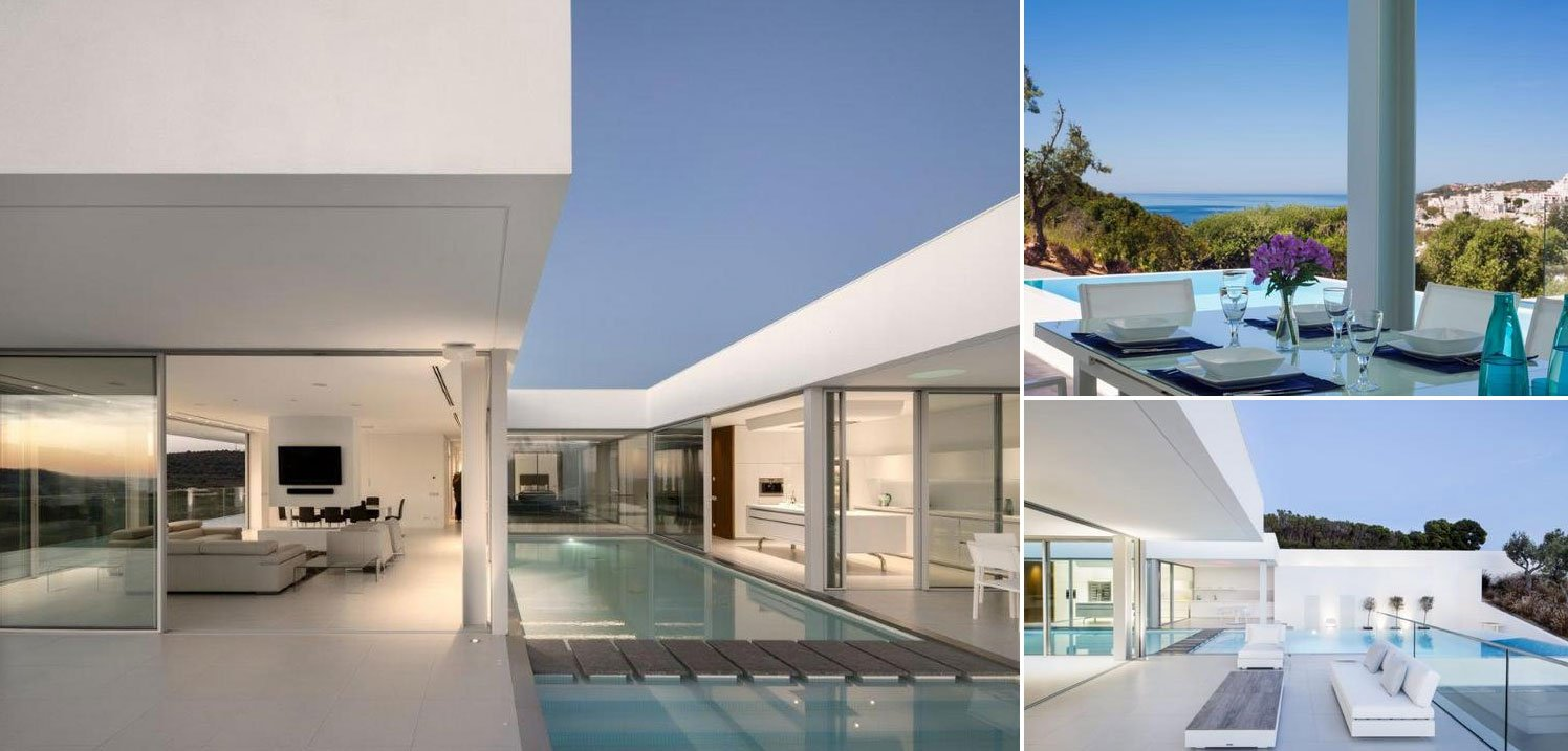 Image collage - contemporary villa in Algarve