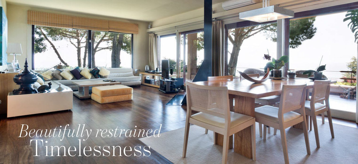 Beautifully restrained timelessness - house in Costa Maresme