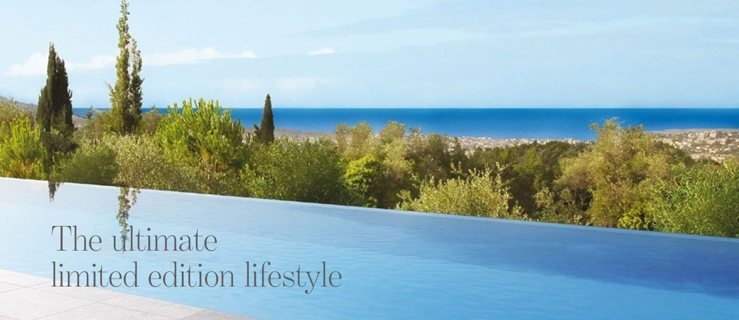 The ultimate limited edition lifestyle - luxury properties for sale near Nice, south of France