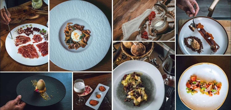 Image gallery of dishes at La Ferreteria restaurant in Madrid