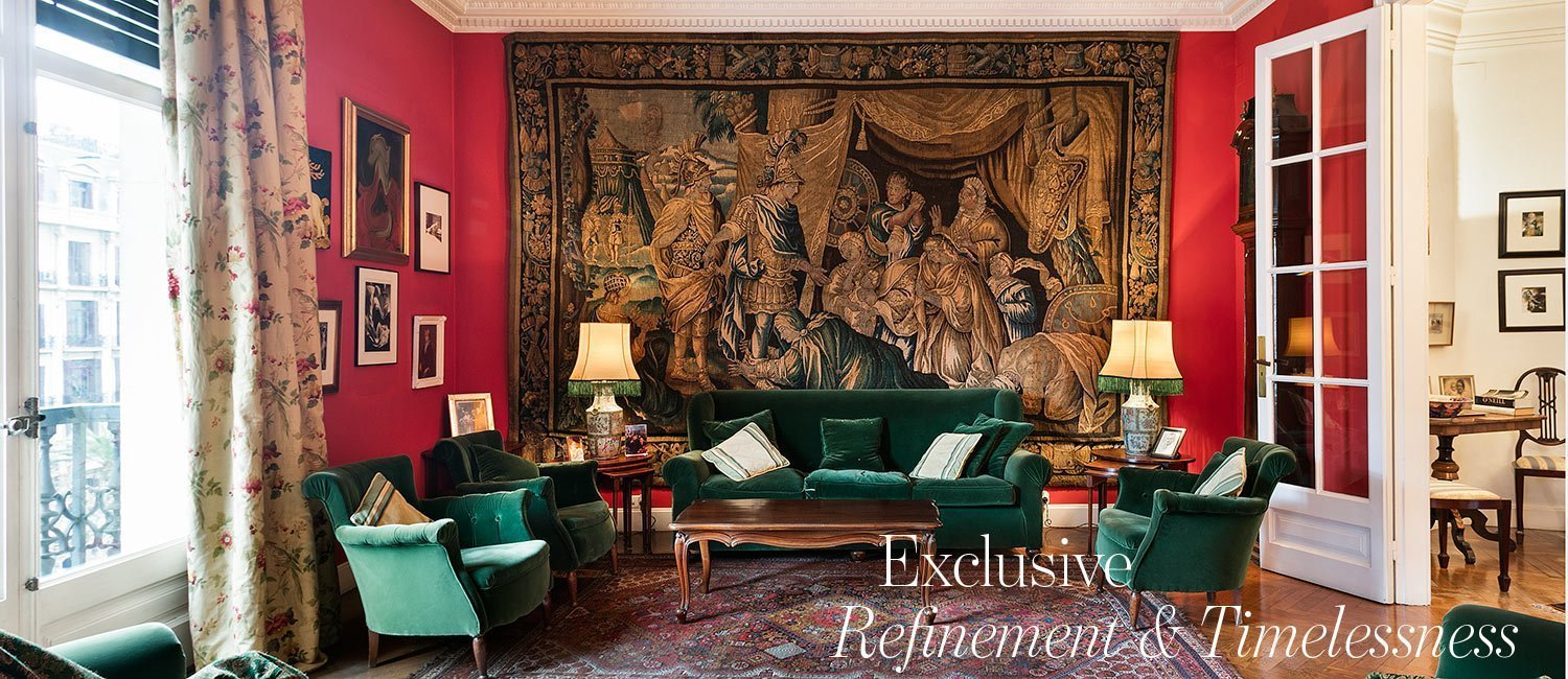 Exclusive Refinement & Timelessness - Classic apartment in Diagonal Barcelona