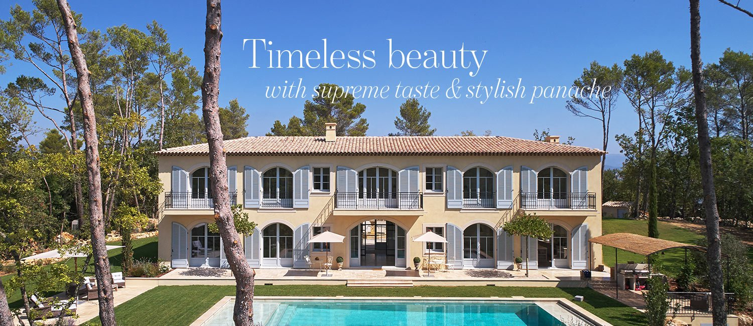 Terre Blanche property - Timeless beauty with supreme taste & stylish panache