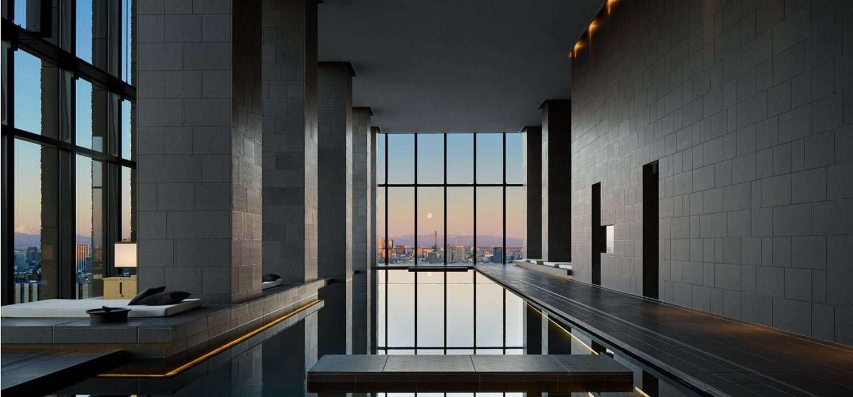 Spa pool Aman Tokyo