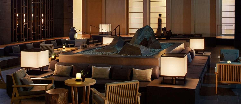 Lobby Aman Tokyo
