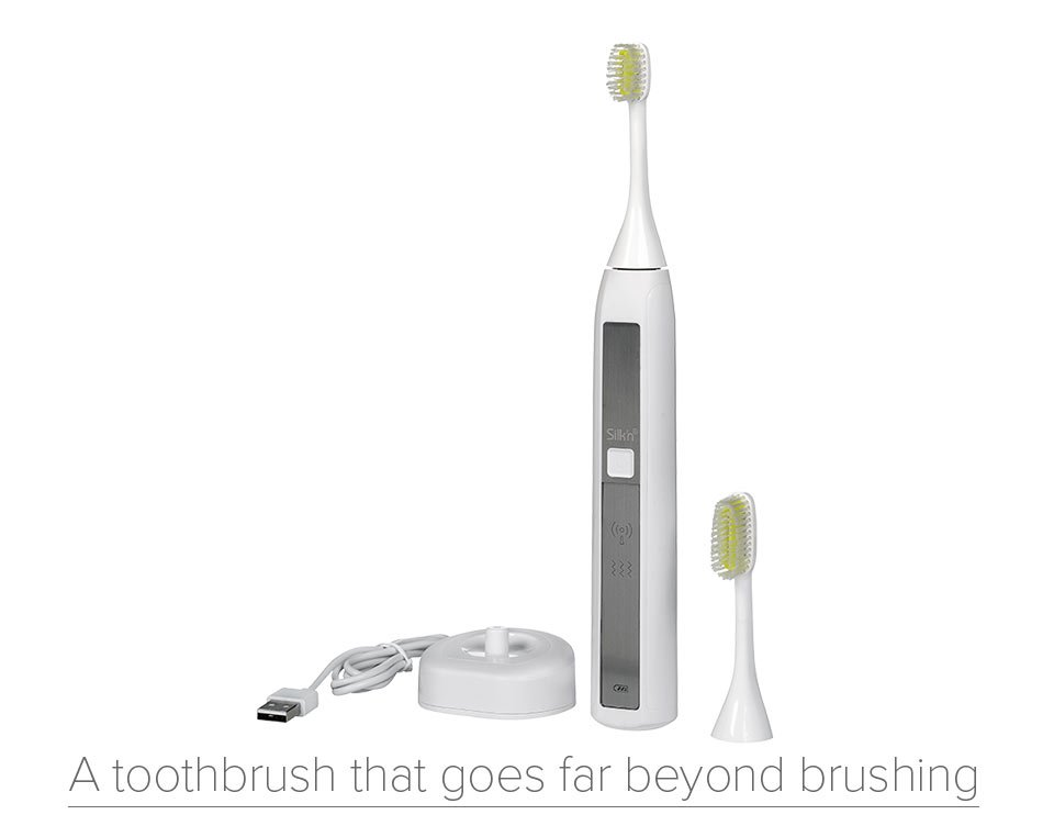 Silk'n toothwave toothbrush - science driven oral care by silk'n