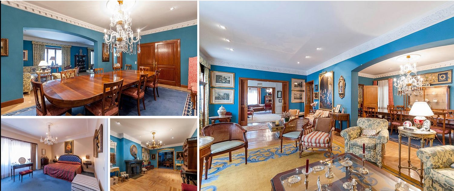 Image composition apartment in Chamberi Madrid