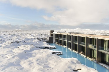 Winter at the Retreat Hotel Iceland