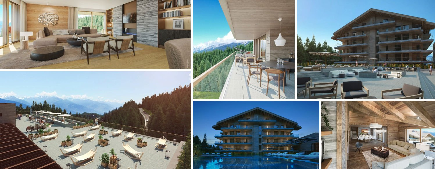 Gallery of images of Six Senses Crans Montana