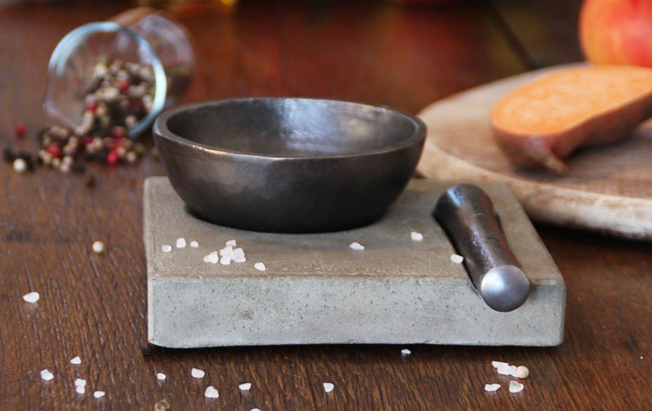 Mortar And Pestle In Cast Iron By Mullernkontor The Great Address