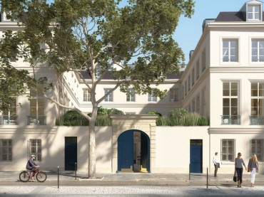 Renovated Hotel Particulier in the Marais Paris