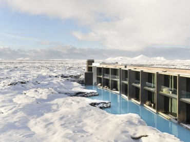 Winter at the luxury boutique hotel 'Retreat at Blue Lagoon Iceland'