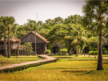 Zannier Hotels Phum Baitang on the outskirts of Siem Reap, Cambodia