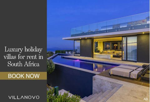 Luxury villa for rent in South Africa