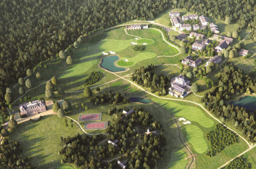 Golf and spa resort properties for sale in Limousin