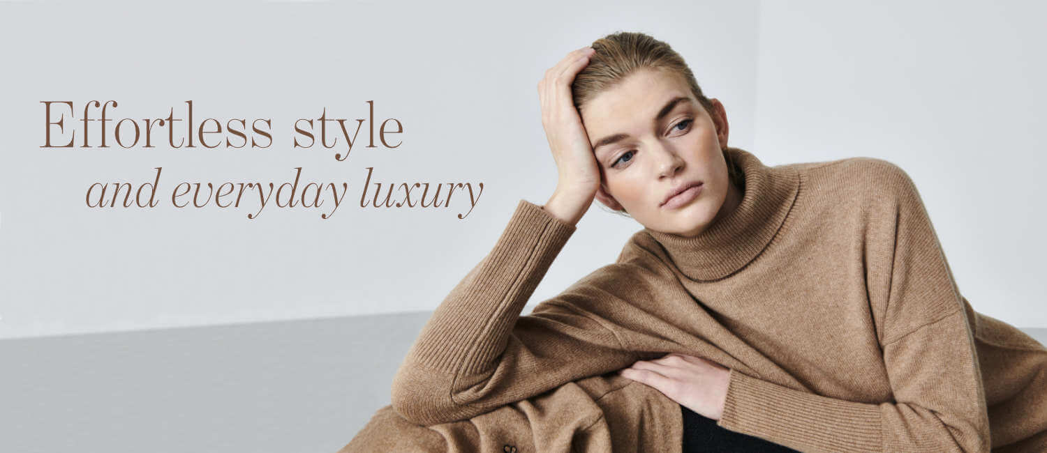 Effortless everyday luxury from Chinit and Parker