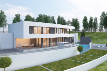 New built house in Costa Blanca