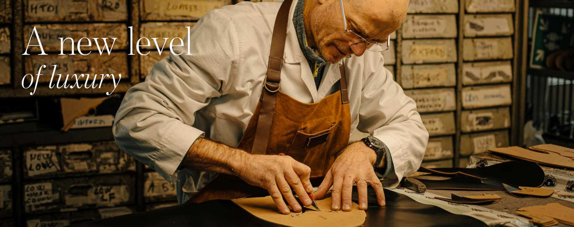 Handcrafted Italian shoes