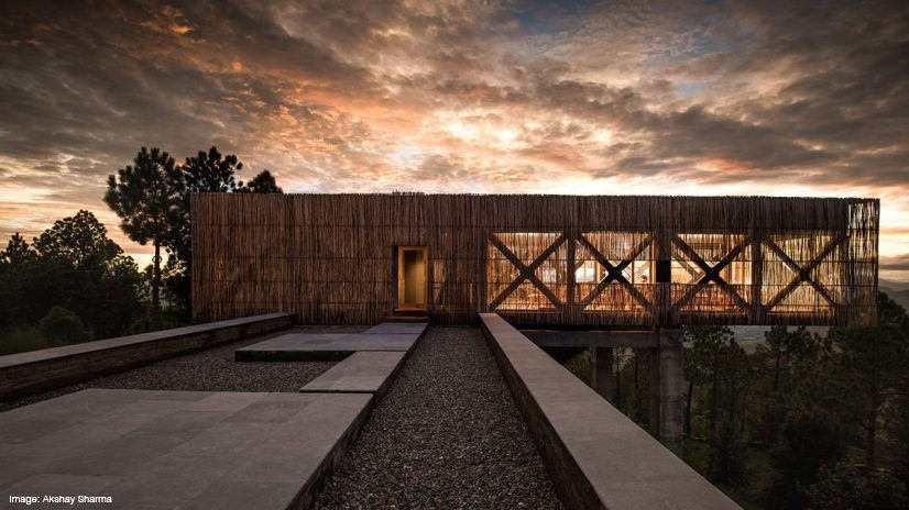 The Kumaon Hotel designed by Zowa Architects