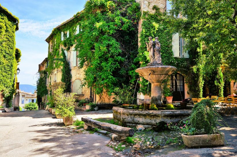 A village in Provence, France