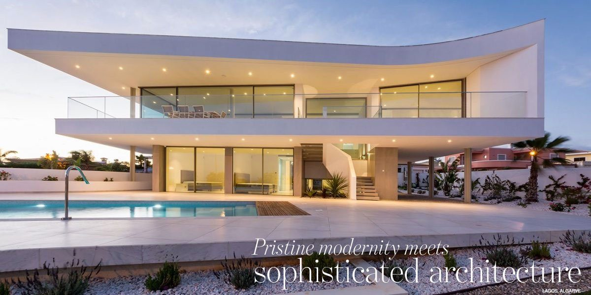 Pristine modernity meets sophisticated architecture - stunning villa for sale in Algarve